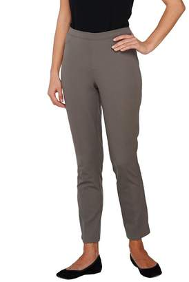 65297e41278 at QVC · Isaac Mizrahi Live! Petite 24 7 Stretch Ankle Pants