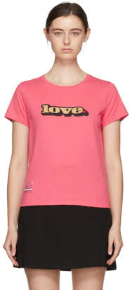 Marc Jacobs Pink Classic Love T-Shirt