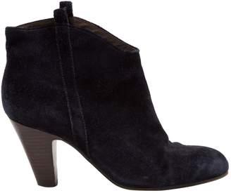 Ash Blue Suede Ankle boots