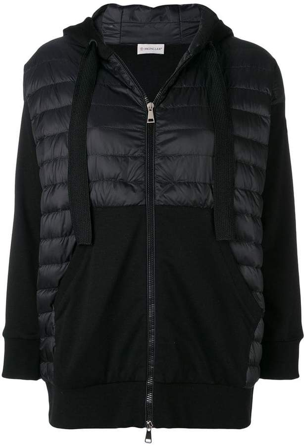 padded front hoodie