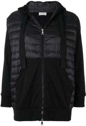 Moncler padded front hoodie