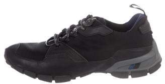 Prada Sport Mesh Low-Top Sneakers