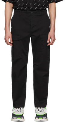Balenciaga Black Army Cargo Pants