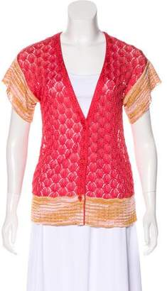 Missoni Knit Casual Cardigan