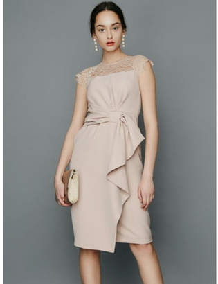 LAGUNAMOON (ラグナムーン) - LAGUNAMOON LADYラッフルリボンタイトドレス