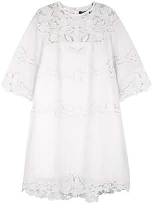 Isabel Marant Marlone Eyelet-embroidered Voile Dress