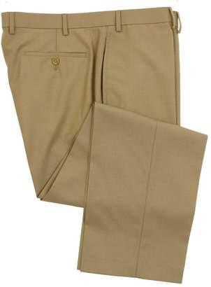 Ralph Lauren Men's Flat Front Solid Wool Dress Pants - Size 42 x30