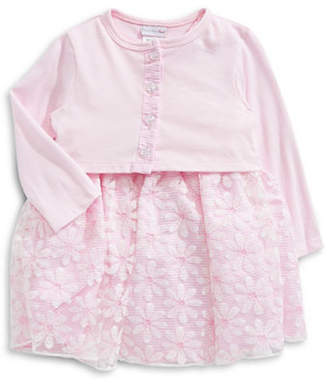 Sweet Heart Rose SWEETHEART ROSE Embroidered Daisy Dress and Jacket Set