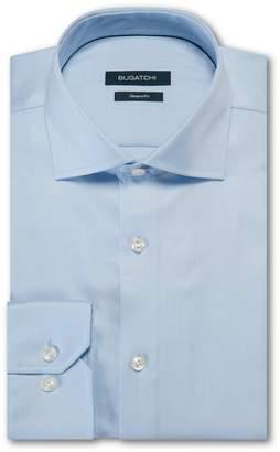 Bugatchi Shaped Fit Solid Dress Shirt
