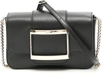 1c3fd9b817c7 Roger Vivier Black Chain Strap Handbags - ShopStyle