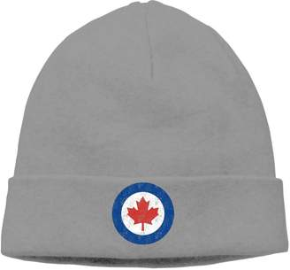 c607059068831 YOOUD-CAP Unisex Adult Royal Canadian Air Force Skull Cap Knit Beanie Hat