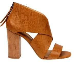 Splendid Danett Textured Leather Sandals
