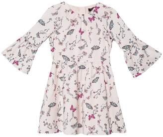 Juicy Couture Butterfly Garden Satin Party Dress for Girls