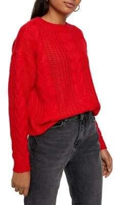 Vero Moda Alpine Cable-Knit Sweater