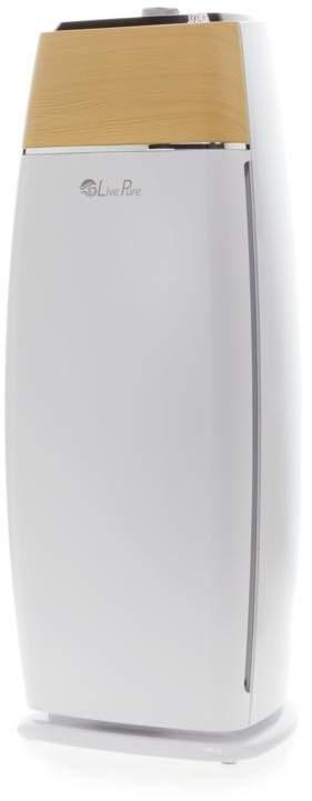 Live Pure Sierra Series Tall Tower True HEPA Air Purifier