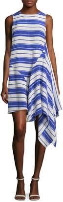 Lulu Whit Women's Asymmetrical Flared Dress