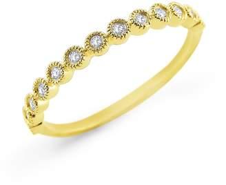 KC Designs Women's Diamond Stack Yellow Gold Ring