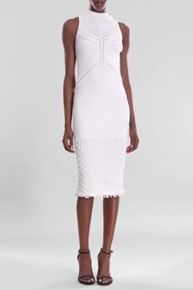 Cushnie White Mallorie Dress