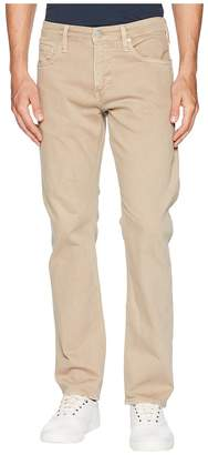 Mavi Jeans Zach Regular Rise Straight in Tan Washed Comfort Men's Jeans