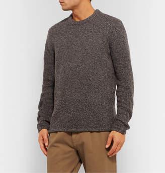 Folk Boucle-Knit Sweater