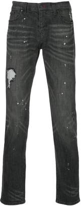 Loveless distressed skinny jeans