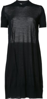 Vera Wang tulle insert dress $995 thestylecure.com