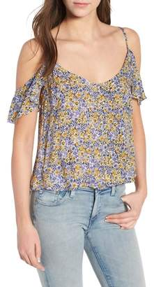Cupcakes And Cashmere Brendi Cold Shoulder Top