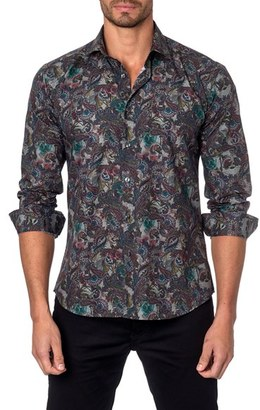 Men's Jared Lang Trim Fit Sport Shirt $149 thestylecure.com