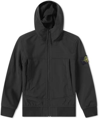 Stone Island Junior Hooded Soft Shell Jacket
