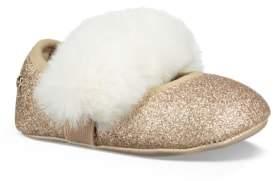 UGG Fluff Glitter Ballet Flat