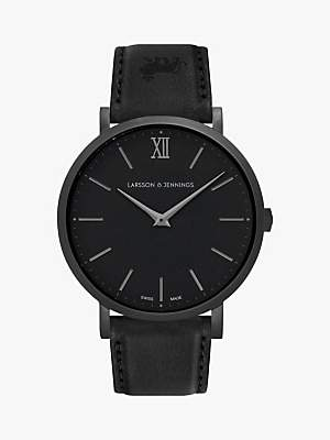 Larsson & Jennings Unisex Lugano Leather Strap Watch