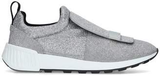 Sergio Rossi Glitter SR1 Low Top Sneakers