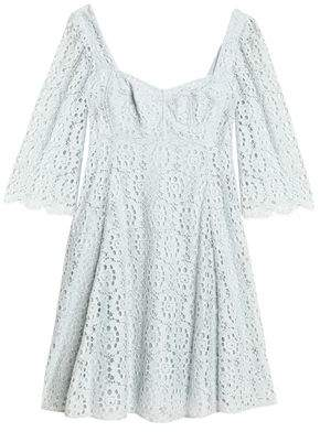 Dolce & Gabbana Open-Back Corded Lace Dress