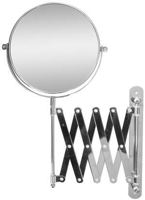 Elegant Home Fashions Extendable Wall Mount Bath Magnifying Makeup Mirror Bedding