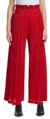 Pleats Please Issey Miyake Thicker Bottom Wide Leg Pants