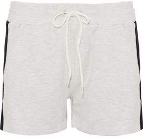 Monrow Mélange Two-Tone Terry Shorts