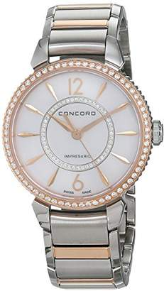 Concord Womens Analogue Classic Quartz Watch with Stainless Steel Strap 320321