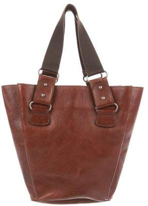 Marni Grained Leather Tote