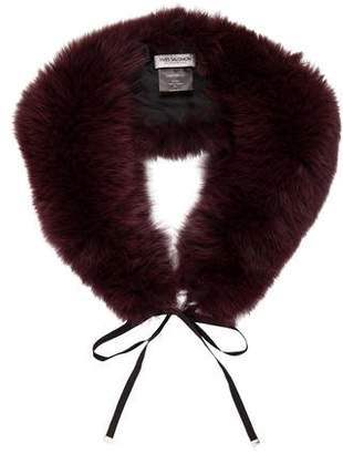 Yves Salomon Fox Fur Stole