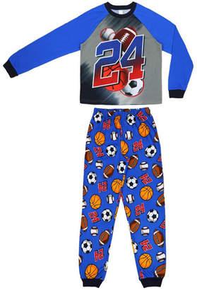 JELLIFISH KIDS All Sport 2 Piece Pajama Set - Boys 4-20
