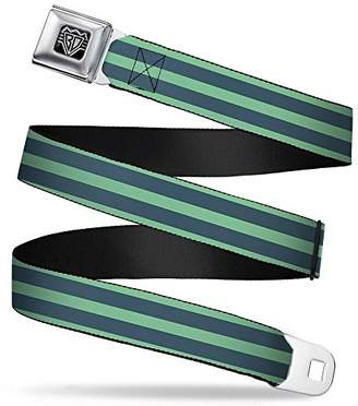 Buckle Down Men's Seatbelt Belt Stripes Regular