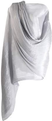 Pleats Please Issey Miyake oversized pleated scarf