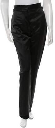 Tom Ford Wool & Silk-Blend Straight-Leg Pants w/ Tags
