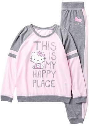 Hello Kitty Komar Jogger Sleep Set (Big Girls)