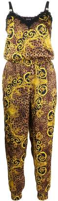 Versace Baroque print jumpsuit