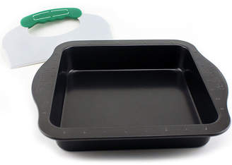 Berghoff Perfect Slice 9 Square cake Pan with Slicing Tool