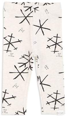 Miles Baby Girls' Snowflake-Print Leggings - Baby
