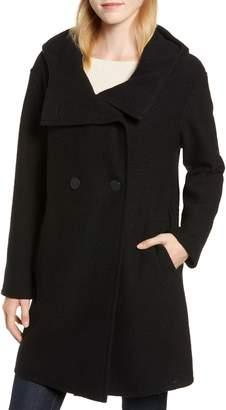 Fleurette Teddy Hooded Wool Coat
