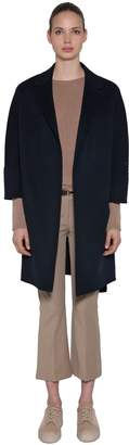 Max Mara 's Double Wool Wrap Coat