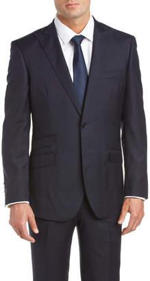 English Laundry Slim Fit Peak Lapel Wool Suit Pant